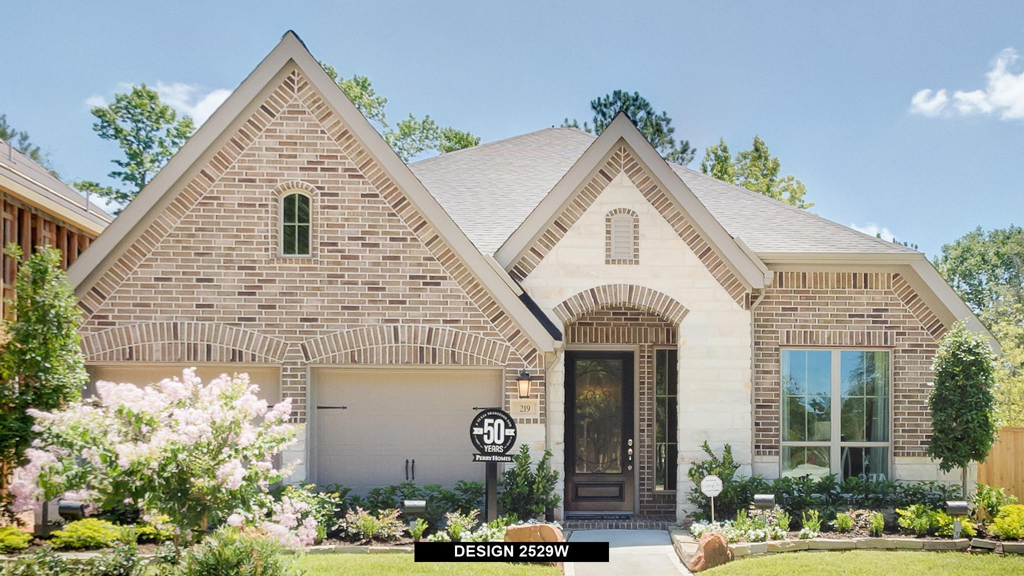 Exterior featured in the 2529W By Perry Homes in Houston, TX