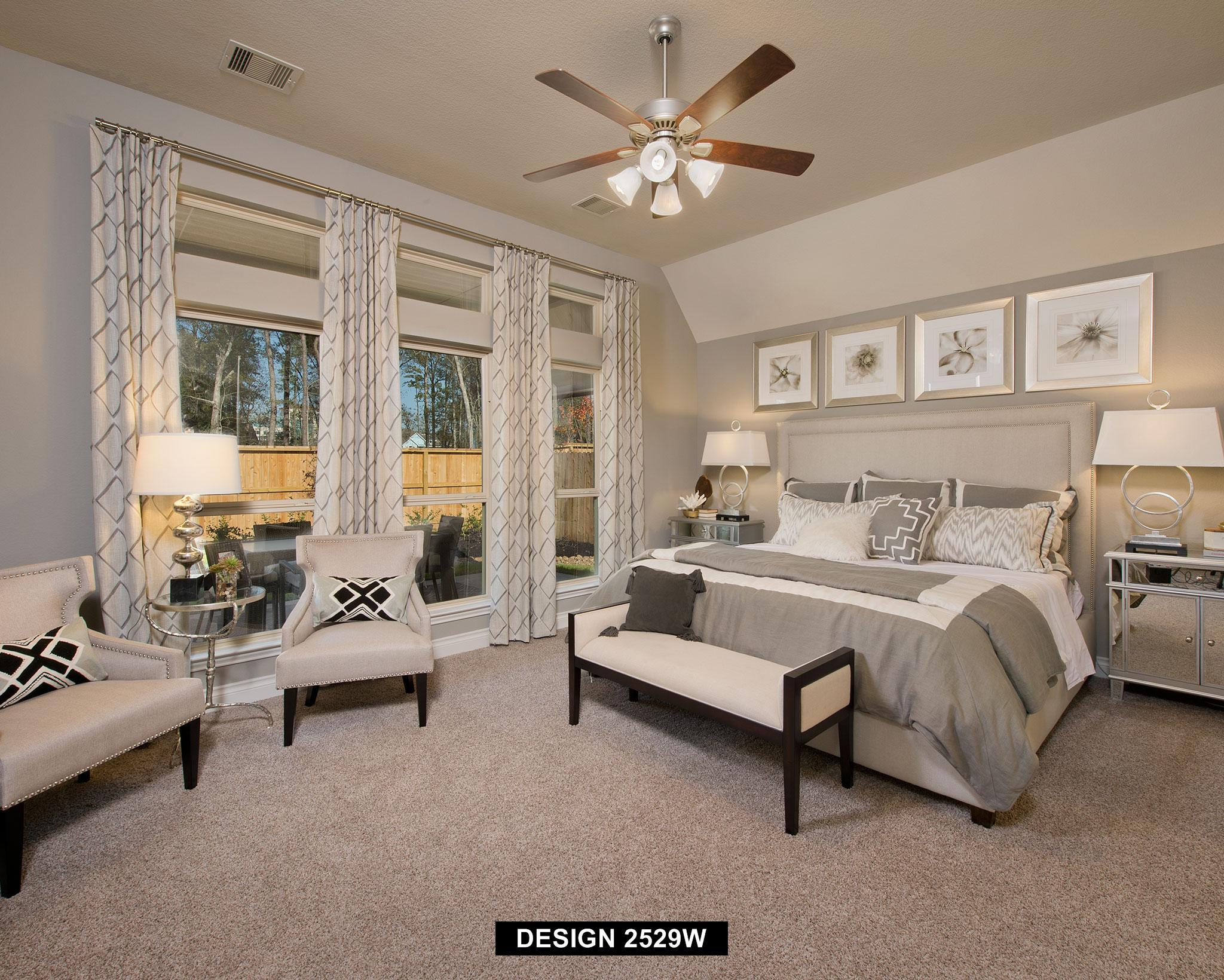 Bedroom featured in the 2529W By Perry Homes in Houston, TX