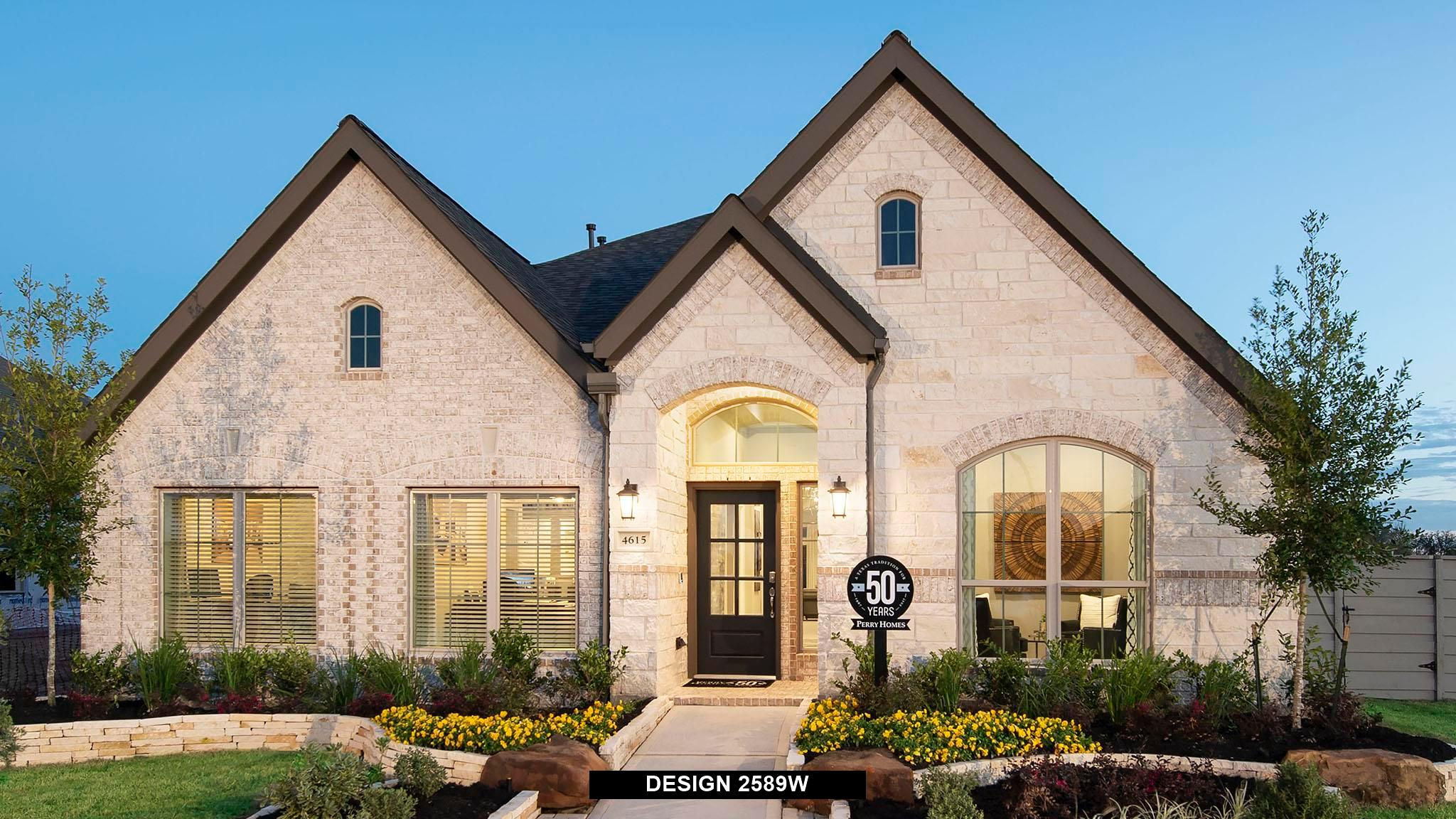 Exterior featured in the 2589W By Perry Homes in Houston, TX