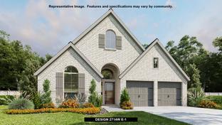 2714W - Johnson Ranch 55': Bulverde, Texas - Perry Homes