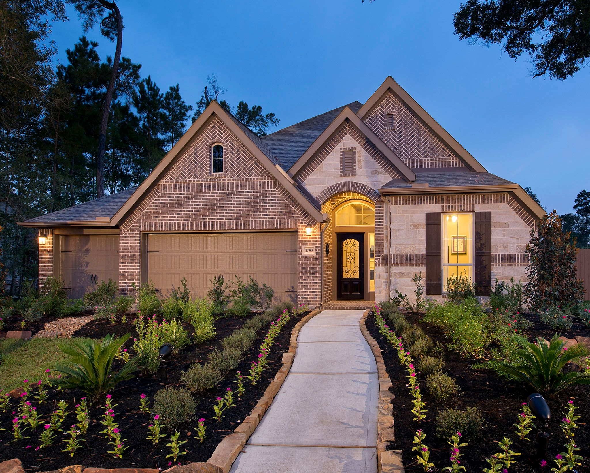 Exterior featured in the 2714W By Perry Homes in San Antonio, TX