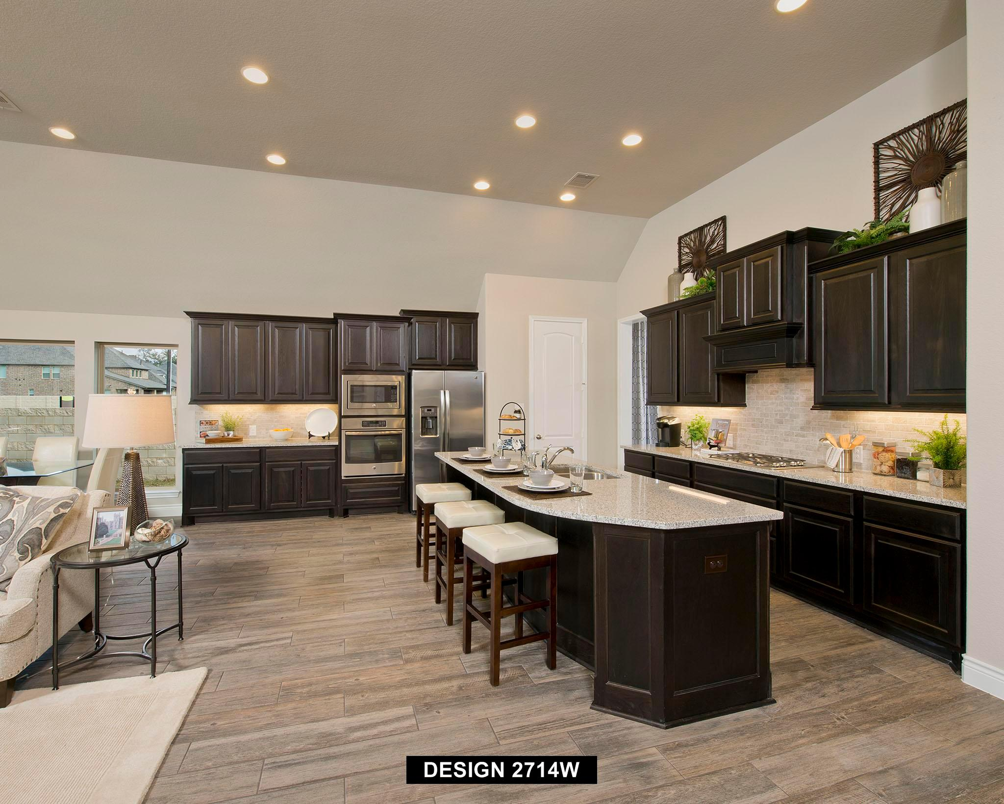 Kitchen featured in the 2714W By Perry Homes in Houston, TX
