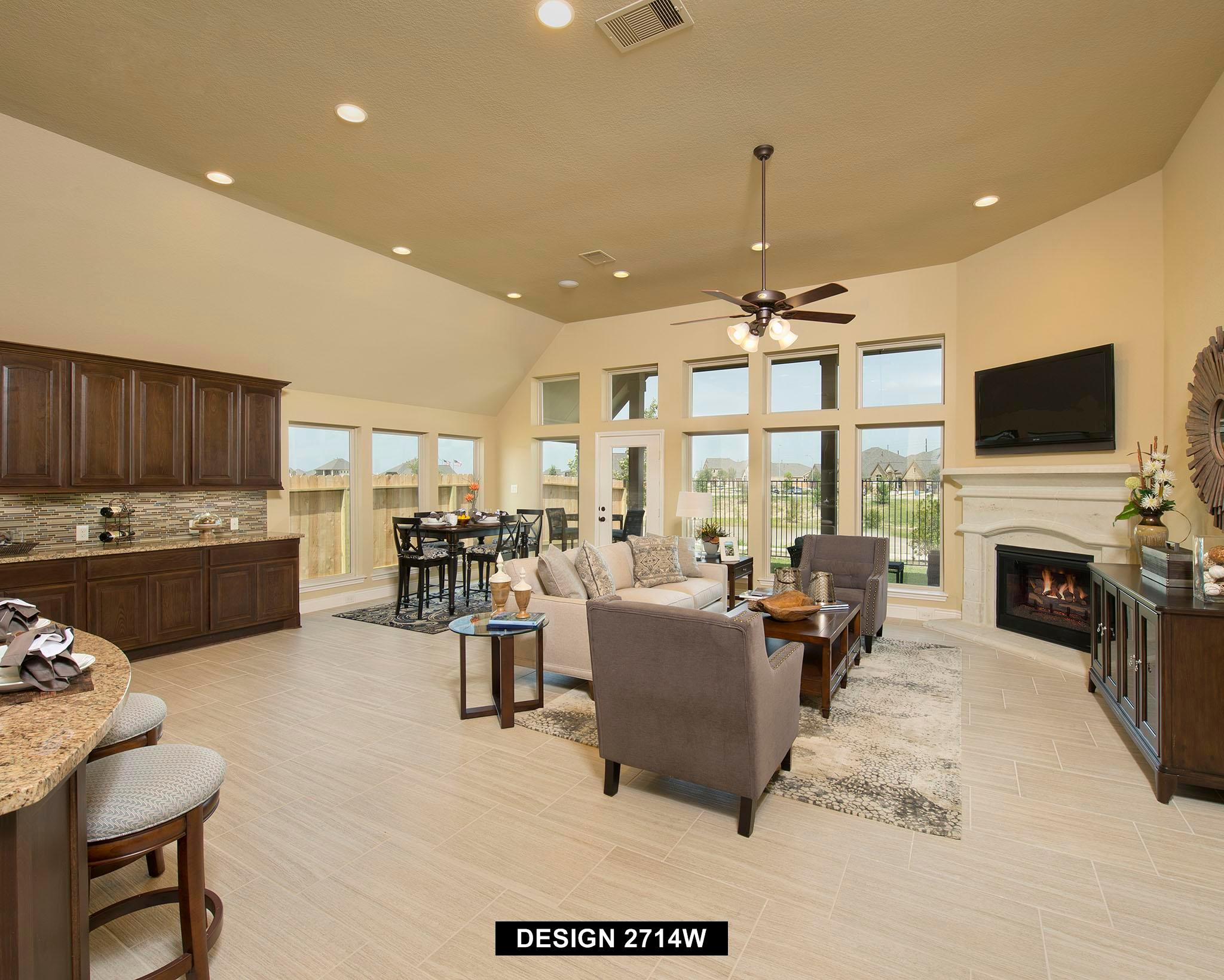 Living Area featured in the 2714W By Perry Homes in Houston, TX