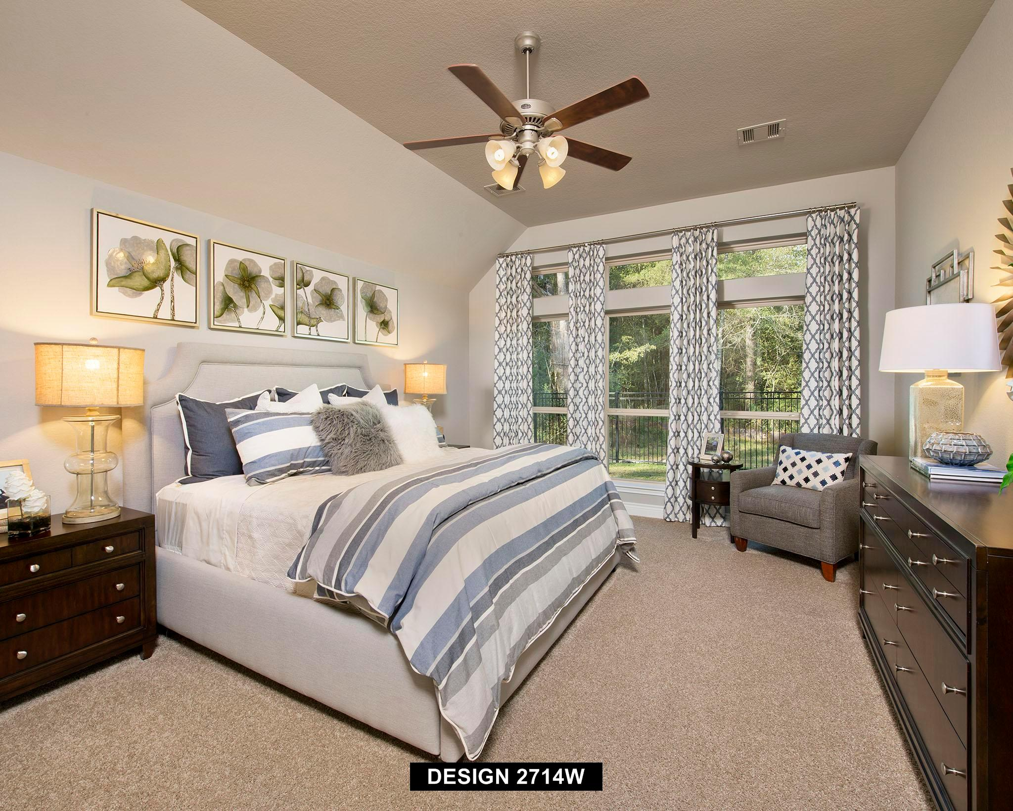 Bedroom featured in the 2714W By Perry Homes in Houston, TX