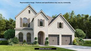 2797W - Santa Rita Ranch 50': Liberty Hill, Texas - Perry Homes