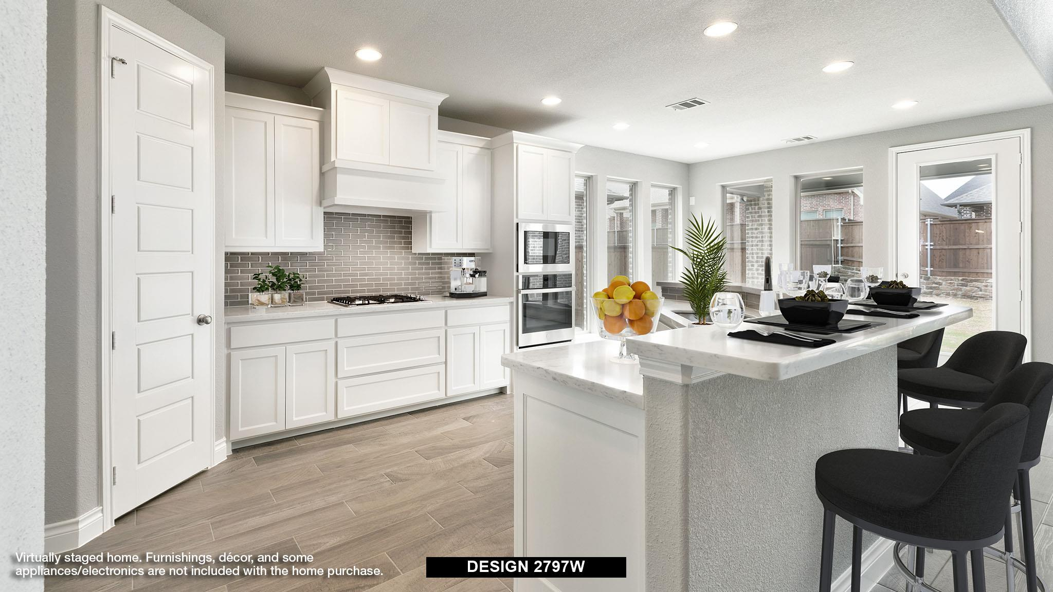 Kitchen featured in the 2797W By Perry Homes in Houston, TX