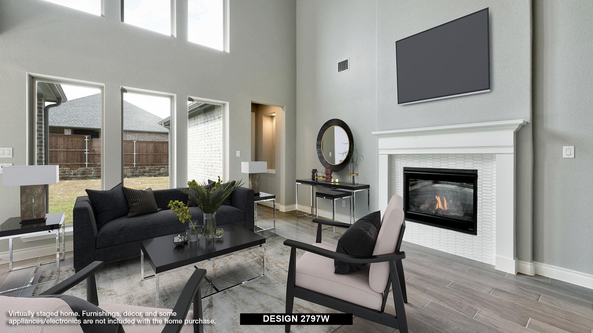Living Area featured in the 2797W By Perry Homes in Houston, TX