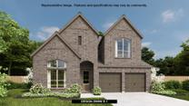 Devonshire - Reserve 60' by Perry Homes in Dallas Texas