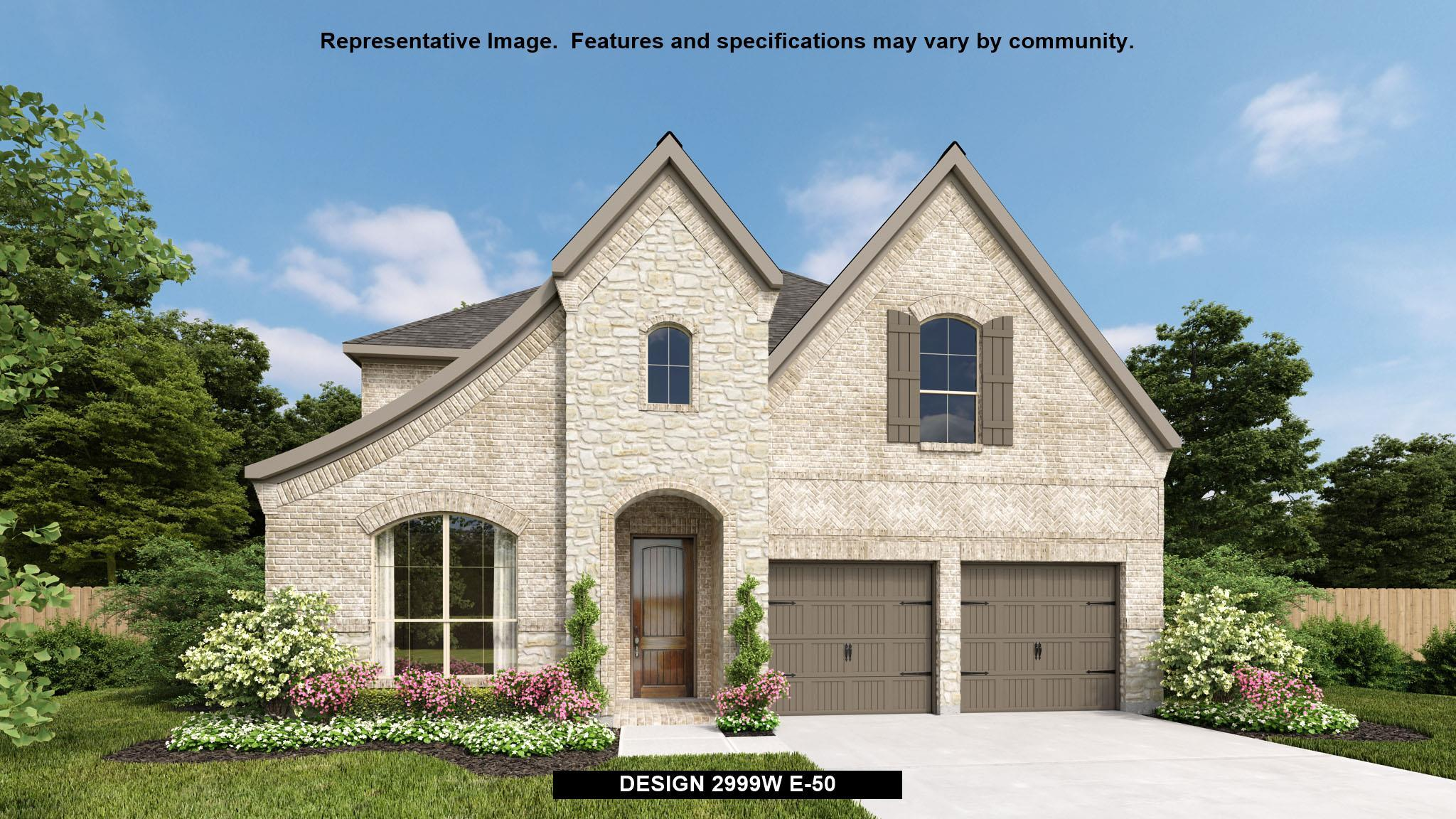 Exterior featured in the 2999W By Perry Homes in Dallas, TX