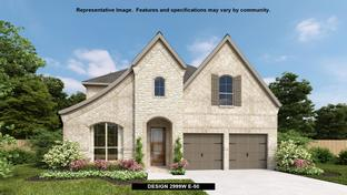 2999W - Amira 50': Tomball, Texas - Perry Homes