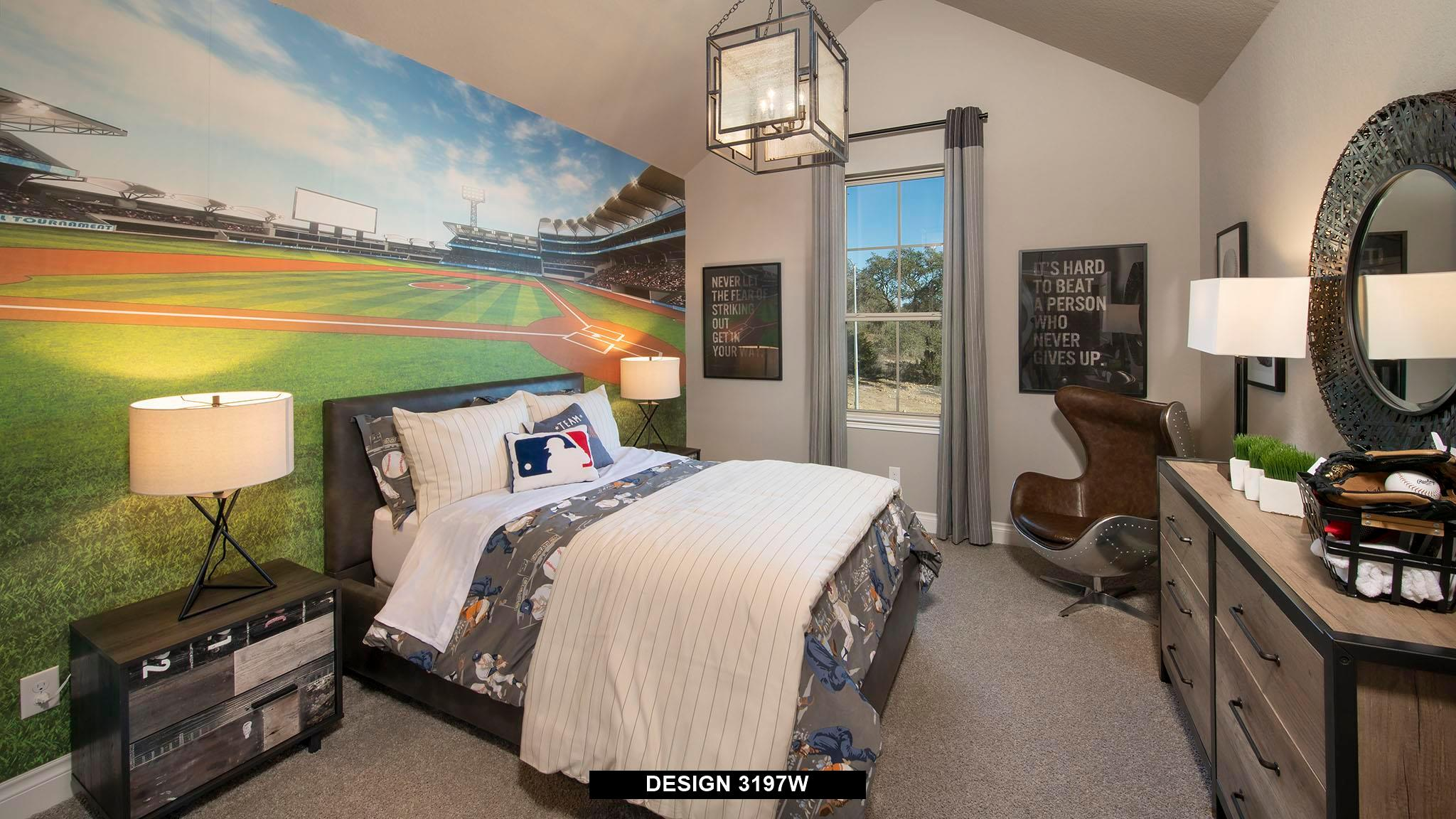 Bedroom featured in the 3197W By Perry Homes in Houston, TX