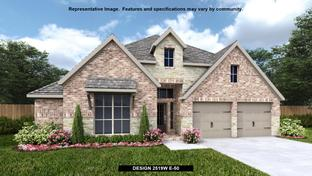 2519W - The Village of Mill Creek 60': Seguin, Texas - Perry Homes