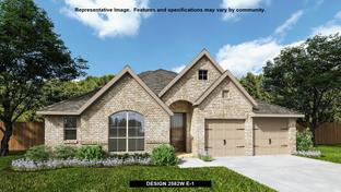 2582W - Devonshire - Reserve 60': Forney, Texas - Perry Homes
