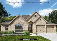 2582W - Prairie Oaks 60': Little Elm, Texas - Perry Homes
