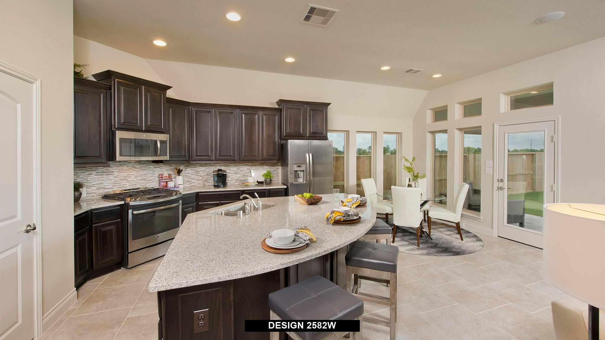 Kitchen featured in the 2582W By Perry Homes in Dallas, TX