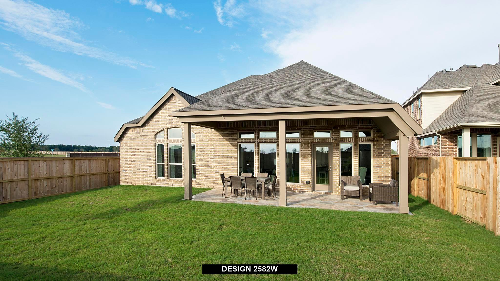 Exterior featured in the 2582W By Perry Homes in Dallas, TX
