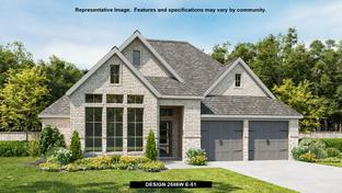 2586W - Elyson 55': Katy, Texas - Perry Homes