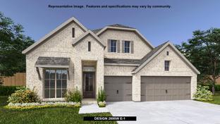 2695W - Rancho Sienna 60': Georgetown, Texas - Perry Homes