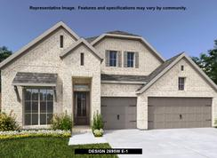 2695W - Bridgeland 55': Cypress, Texas - Perry Homes