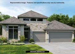 2695W - Cross Creek Ranch 55': Fulshear, Texas - Perry Homes
