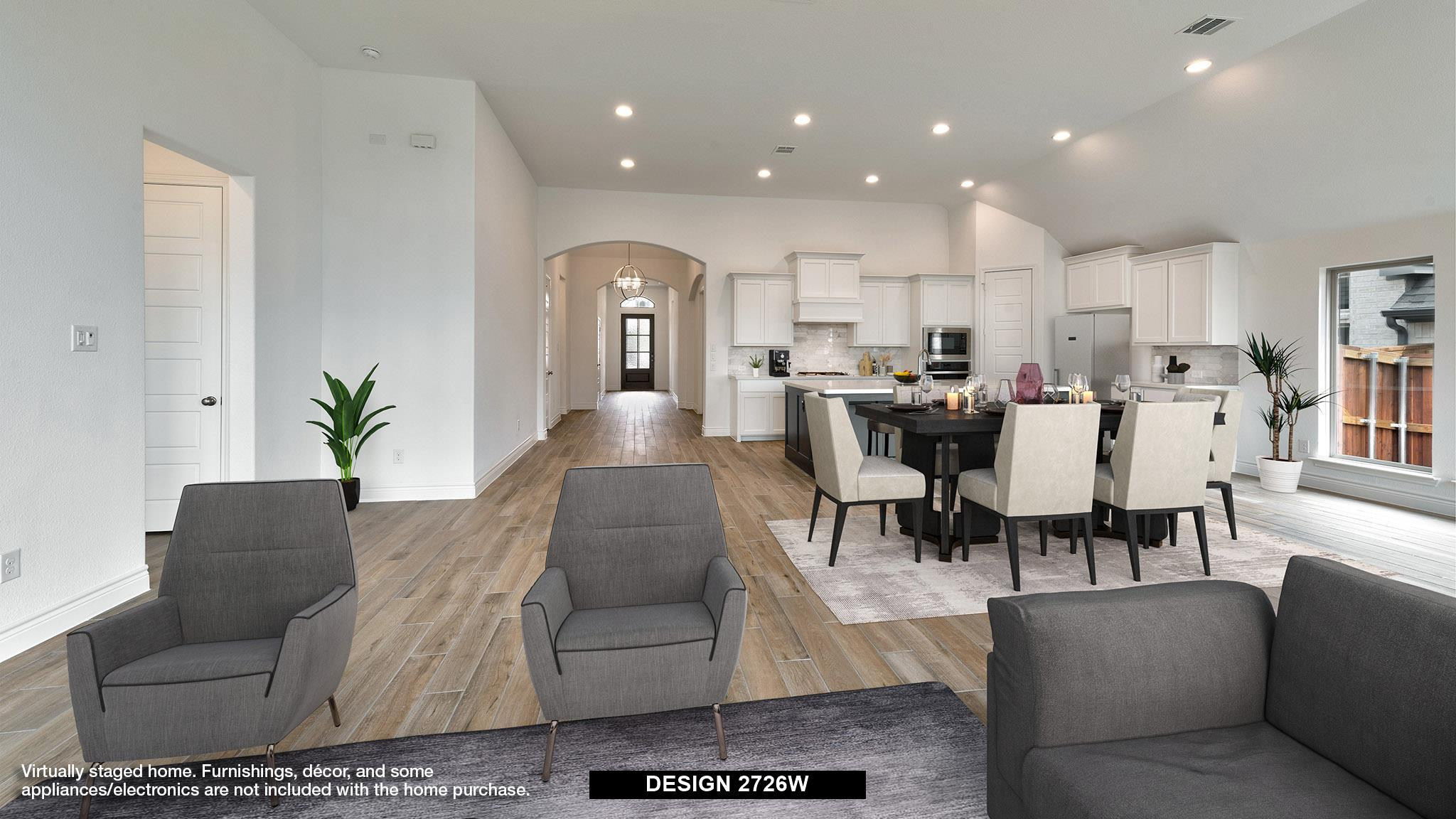 Living Area featured in the 2726W By Perry Homes in Dallas, TX