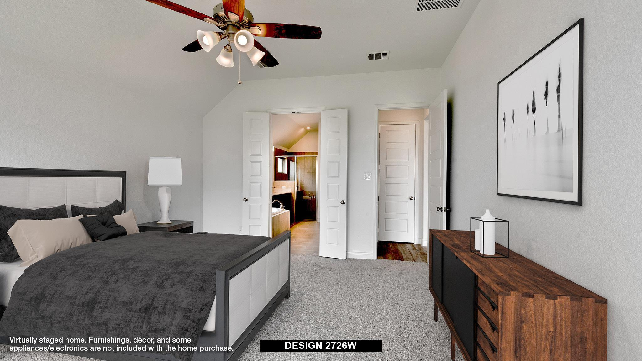 Bedroom featured in the 2726W By Perry Homes in Dallas, TX