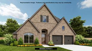 2737W - Bridgeland 55': Cypress, Texas - Perry Homes