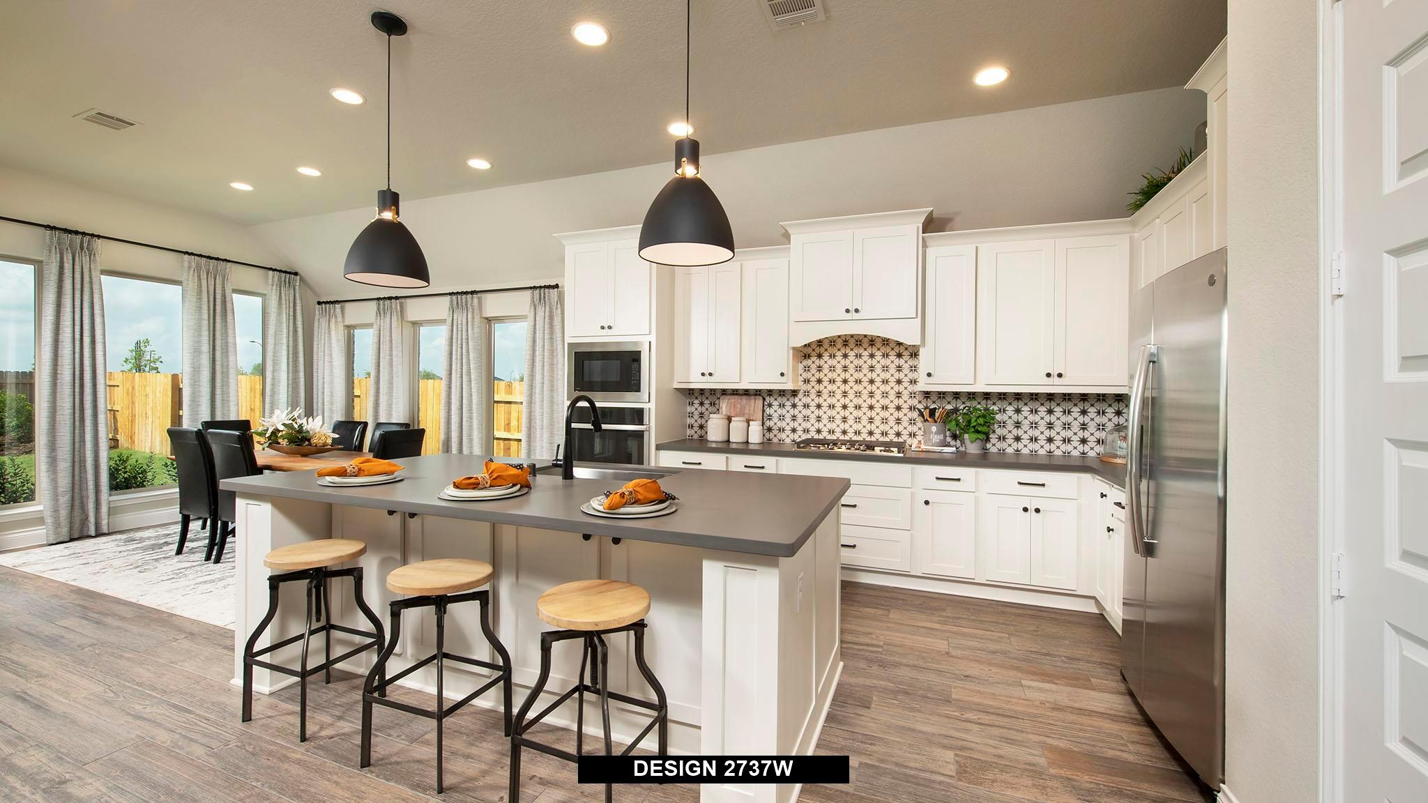 Kitchen featured in the 2737W By Perry Homes in Houston, TX