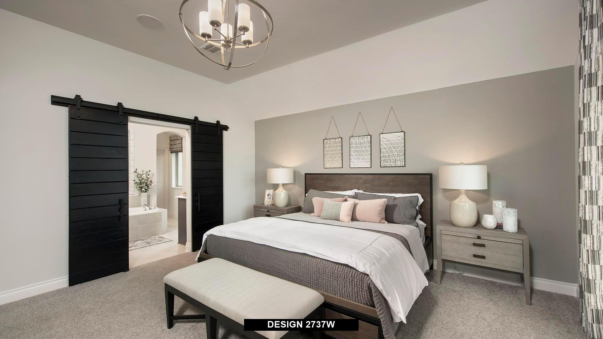 Bedroom featured in the 2737W By Perry Homes in Houston, TX