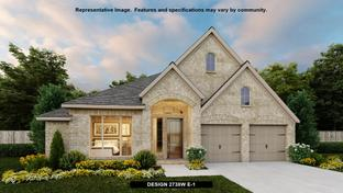 2738W - ShadowGlen 65': Manor, Texas - Perry Homes