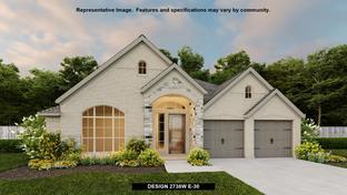 2738W - Elyson 55': Katy, Texas - Perry Homes