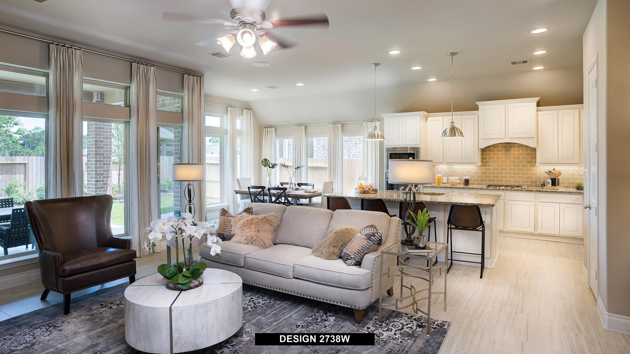 Living Area featured in the 2738W By Perry Homes in Houston, TX