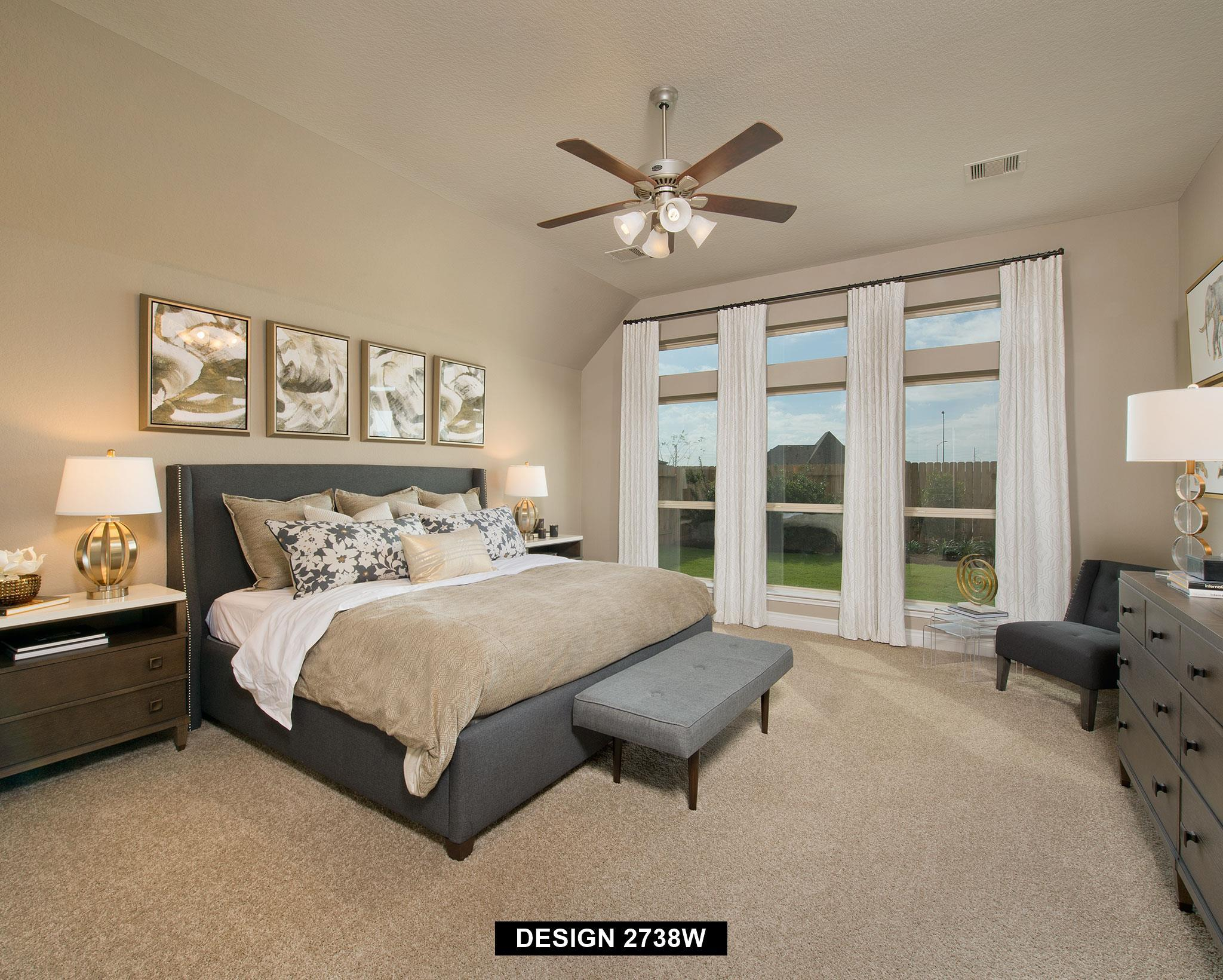 Bedroom featured in the 2738W By Perry Homes in Houston, TX