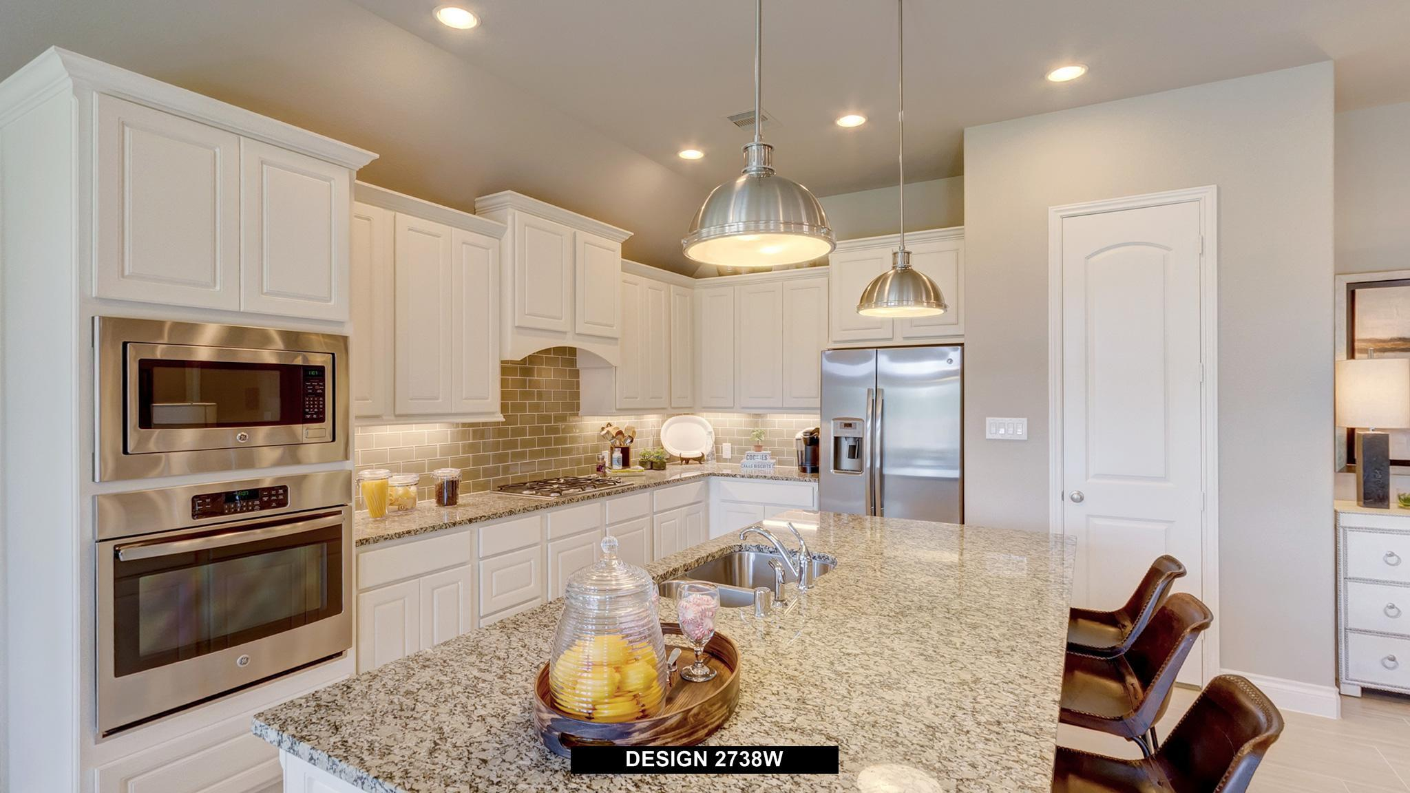 Kitchen featured in the 2738W By Perry Homes in Houston, TX