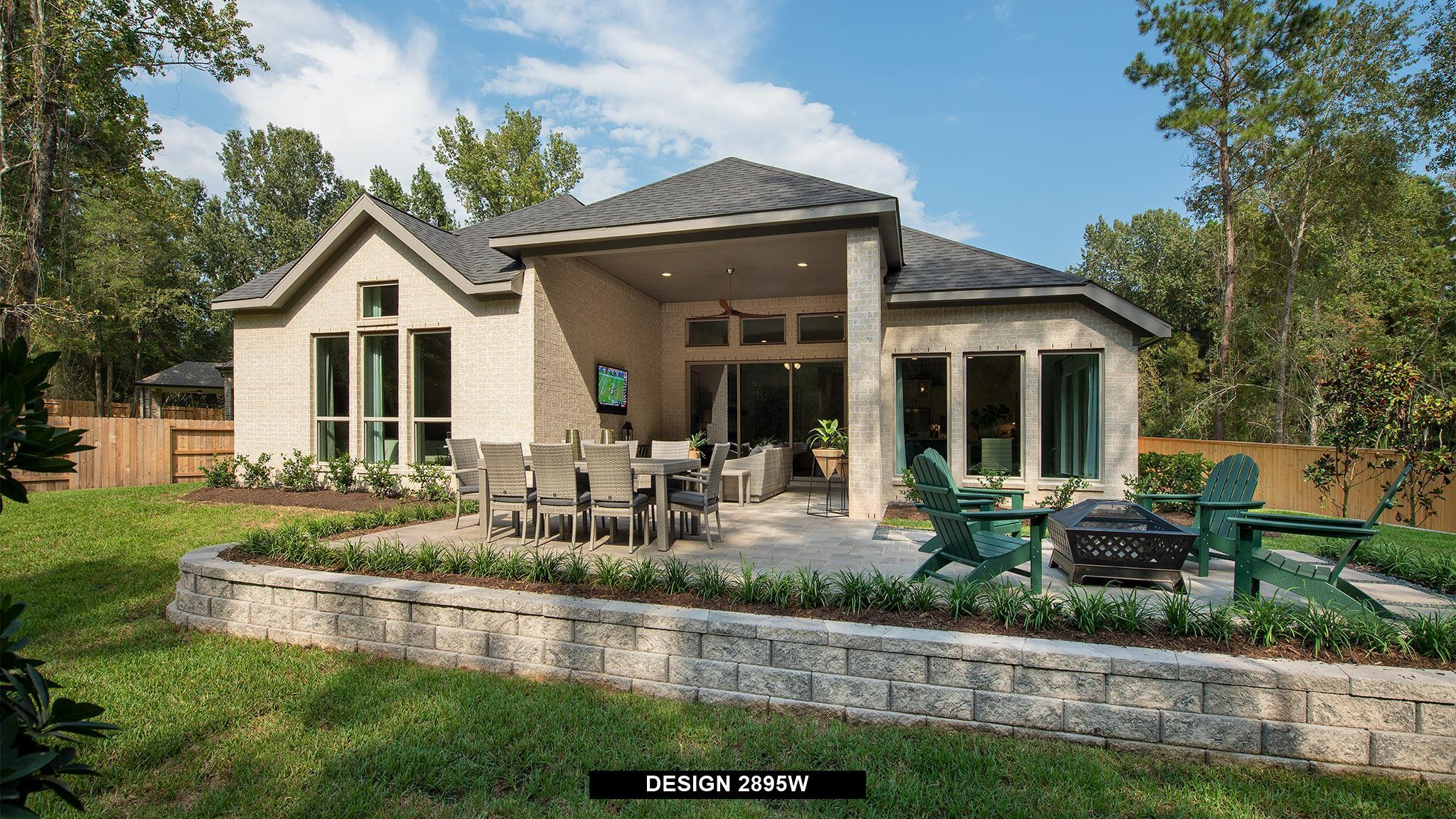 Exterior featured in the 2895W By Perry Homes in San Antonio, TX