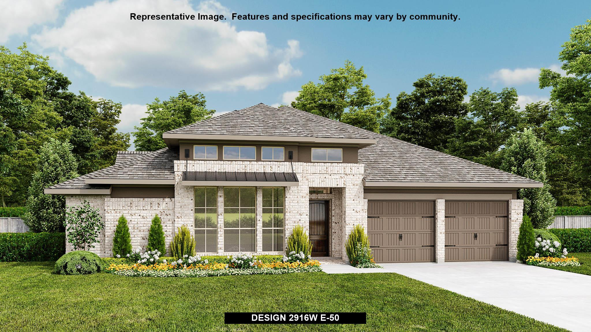 Exterior featured in the 2916W By Perry Homes in Austin, TX