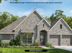 2943W - Cross Creek Ranch 60': Fulshear, Texas - Perry Homes