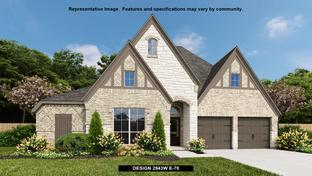 2943W - The Groves 60': Humble, Texas - Perry Homes