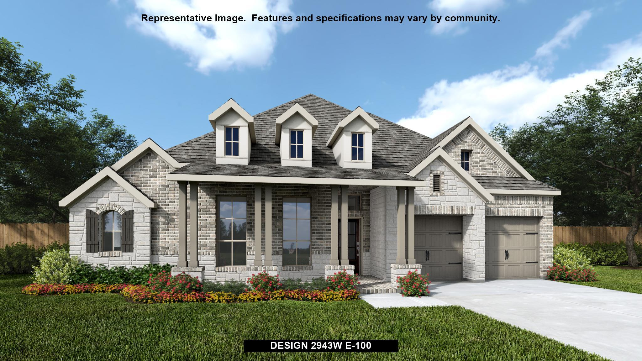 Exterior featured in the 2943W By Perry Homes in Austin, TX