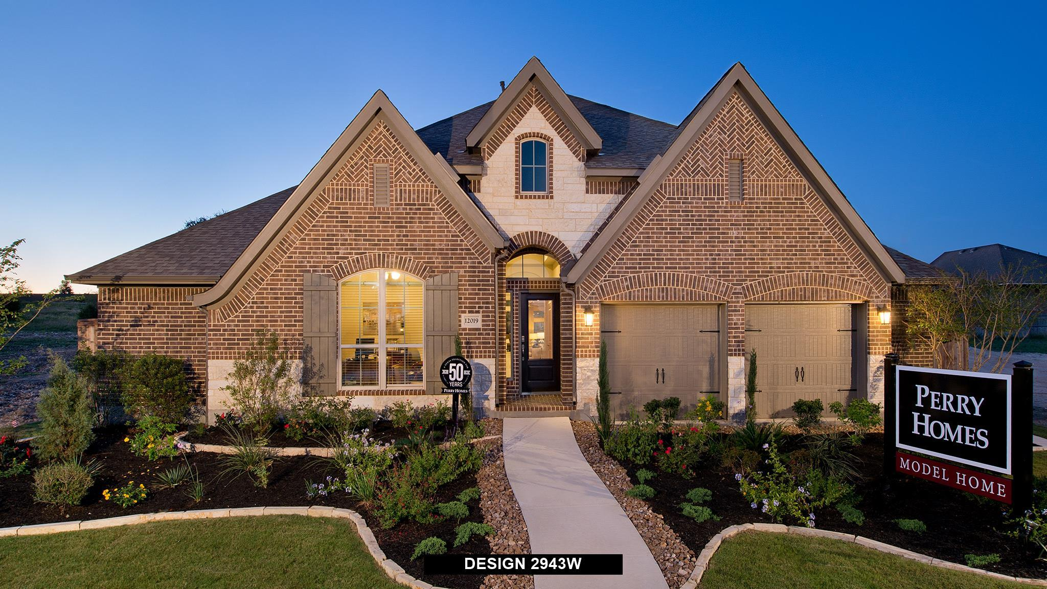 Exterior featured in the 2943W By Perry Homes in Dallas, TX