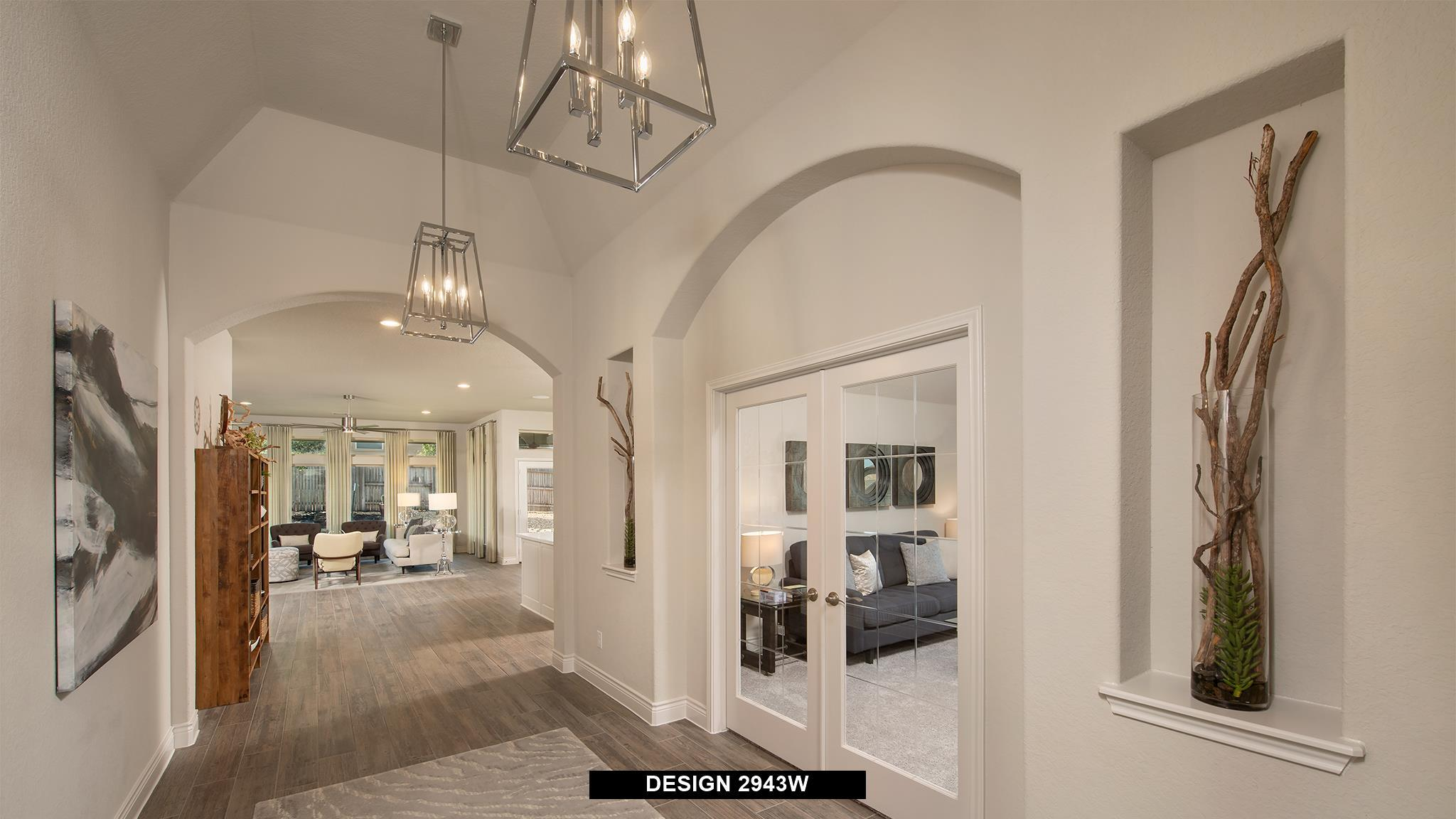 Living Area featured in the 2943W By Perry Homes in Dallas, TX
