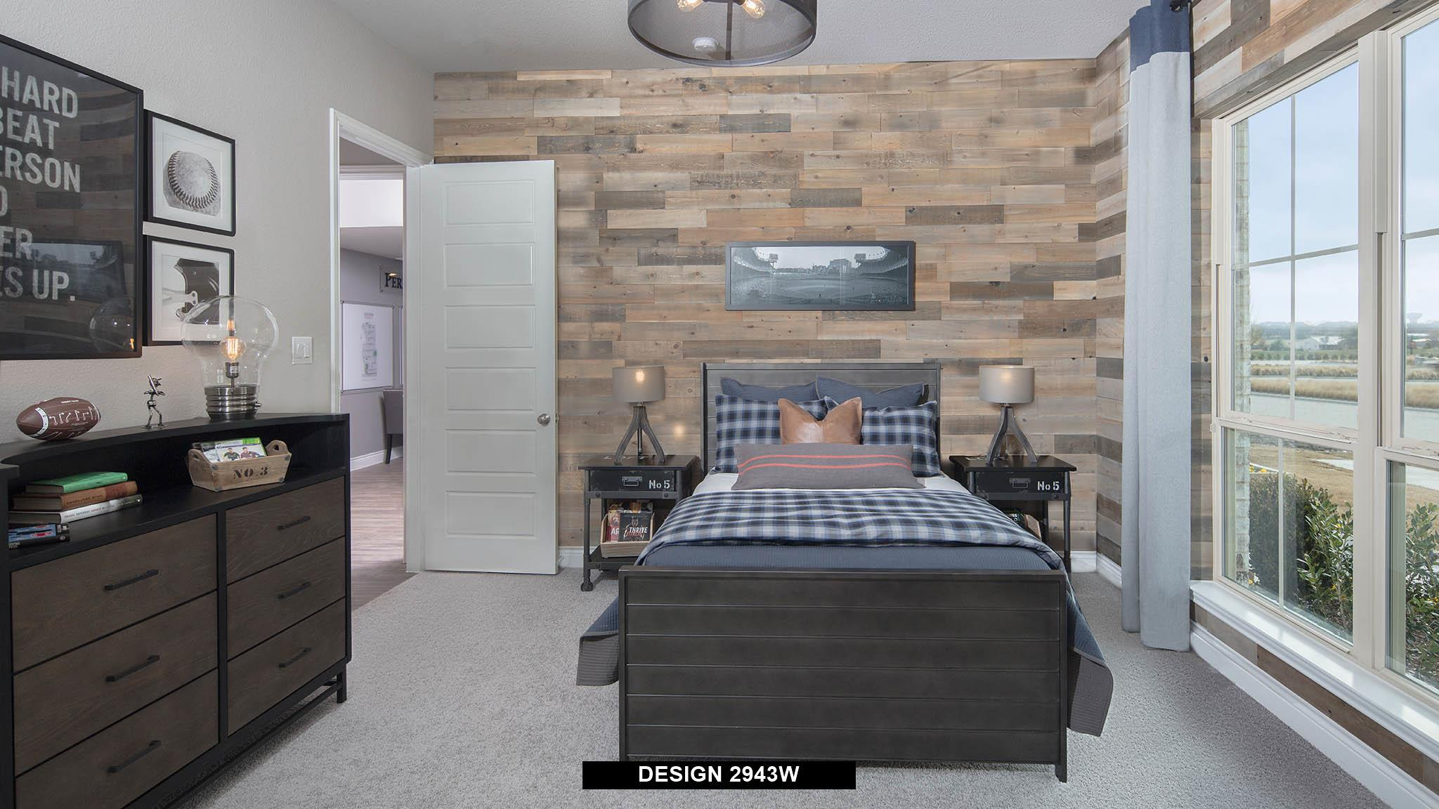 Bedroom featured in the 2943W By Perry Homes in Dallas, TX