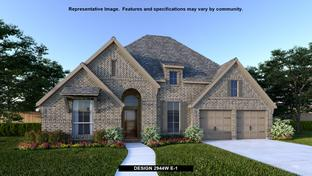 2944W - Reserve at Creekside 60': Denton, Texas - Perry Homes