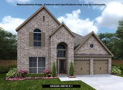 2997W - Reserve at Creekside 60': Denton, Texas - Perry Homes
