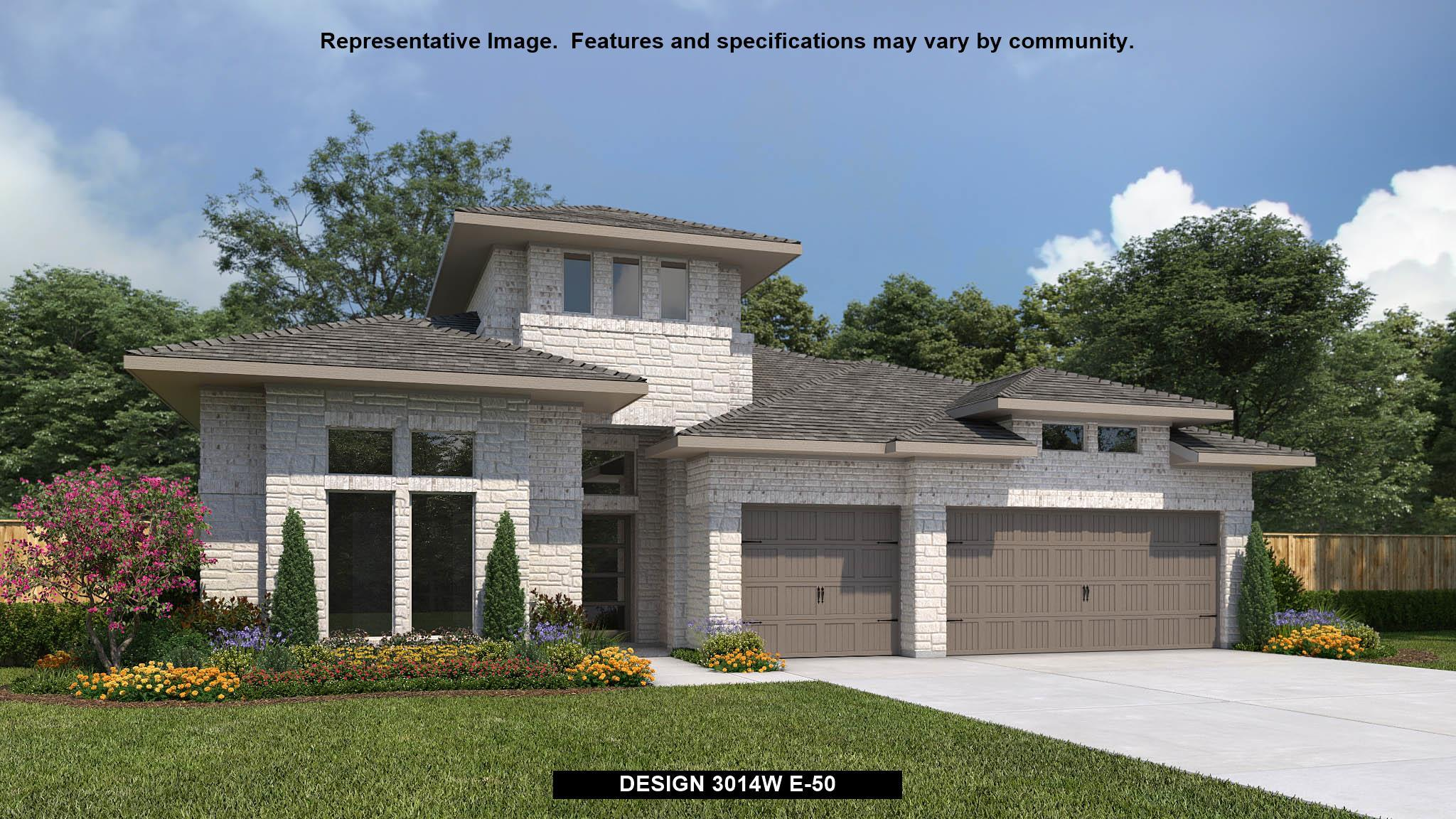 Exterior featured in the 3014W By Perry Homes in San Antonio, TX