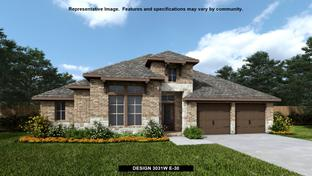 3031W - Pomona 60': Manvel, Texas - Perry Homes