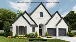 3118W - Harper's Preserve 60': Conroe, Texas - Perry Homes