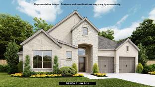 3118W - Mantua Point 65': Van Alstyne, Texas - Perry Homes