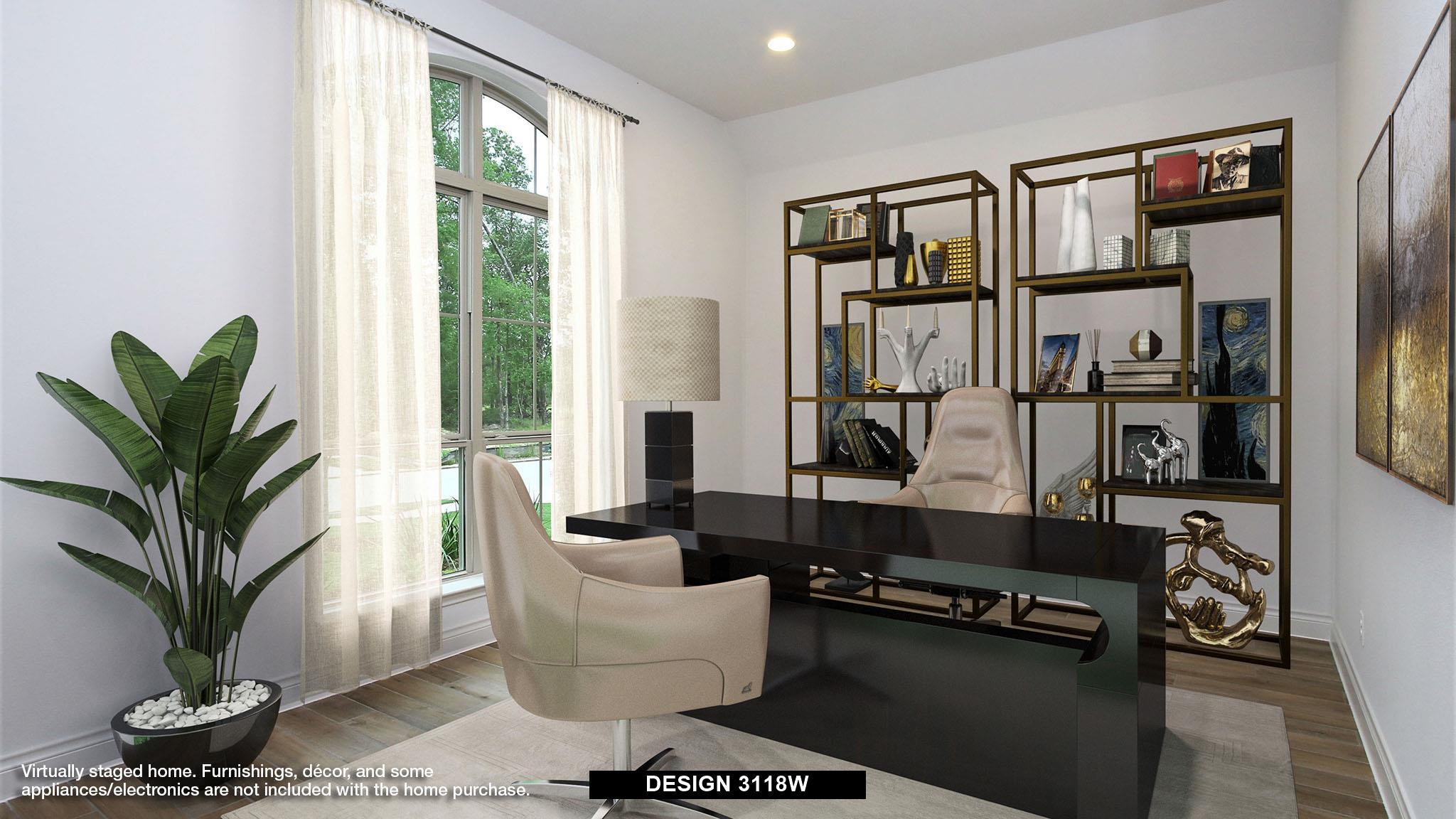 Living Area featured in the 3118W By Perry Homes in Dallas, TX