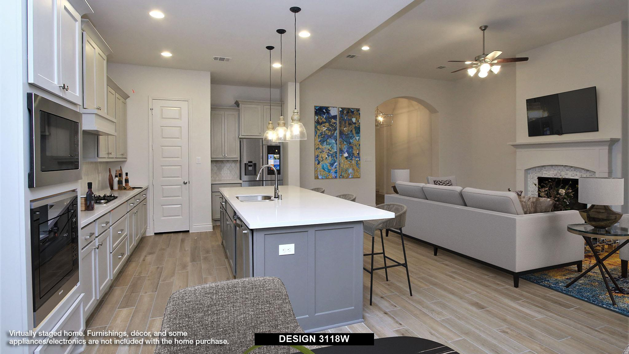 Kitchen featured in the 3118W By Perry Homes in Dallas, TX